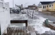 Последствия шторма в США показали на видео