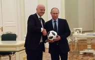 Путин показал футбольный трюк в ролике к ЧМ-2018