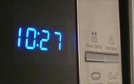 In Europe slowed down digital clock in 25 countries