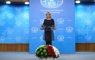 Захарова сравнила просьбу Собчак с разрешением сходить в туалет