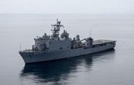 В Черное море вошел корабль США с морпехами