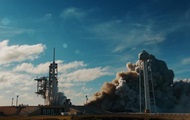 Released a new video of the launch of the Falcon Heavy