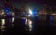 Крушение вертолета в Нью-Йорке: погибли два человека