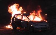 Взрыв газового баллона в авто попал на видео