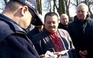 В Польше вызвали полицию из-за Слава Украине