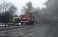 В Киеве на стройке возник пожар