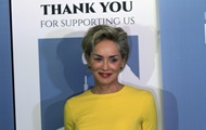 Sharon stone has supported accused of assaulting Franco