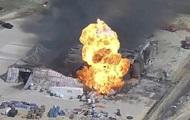 На химзаводе в США произошел взрыв