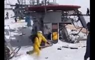 Авария подъемника в Грузии: травмированы 10 людей