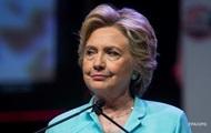 Хиллари Клинтон сломала запястье