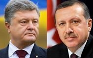 Порошенко попросив Ердогана не визнавати вибори в Криму
