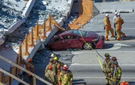 The bridge collapse in Miami: from the wreckage pulled out three bodies