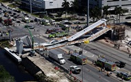 The number of victims of a bridge collapse in Miami has risen to six