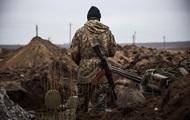 На Донбассе за сутки ранен один военный