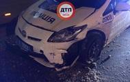 У Харкові п'яний водій врізався в патрульне авто