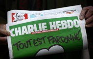 Charlie Hebdo showed a caricature of elections in Russia