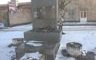 В Бердичеве повредили памятник Ватутину