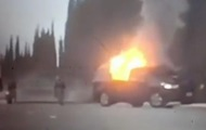 At a military airbase the US, the suicide bomber blew up a car