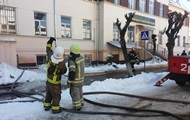 The fire in Chernivtsi College was extinguished three hours