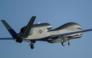 US drone scouted in the Donbass and near Crimea