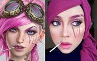 Визажист показала анимационных героинь в хиджабе