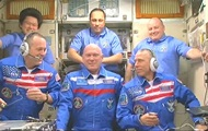 The crew Union went to the ISS