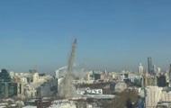 В России подорвали 230-метровую телебашню