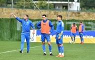 Сборная Украины провела тренировку в Бельгии перед матчем с Японией