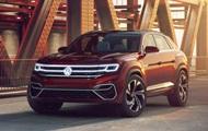 Показан дизайн авто Volkswagen Atlas Cross Sport