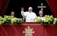 Папа Римский пожелал мира Украине
