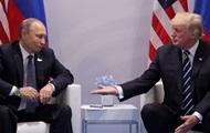 Белый дом подтвердил встречу Трампа с Путиным