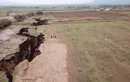В Африке появилась огромная трещина