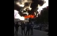 В Самаре возле ТРЦ начался пожар