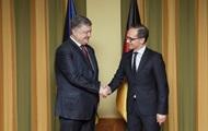 Министр иностранных дел Германии посетит Украину