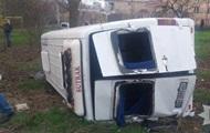 На Одещині в ДТП з мікроавтобусом постраждали 11 людей