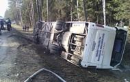 В России опрокинулся автобус с 40 детьми, есть жертвы