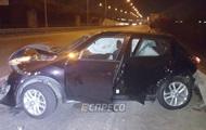 На мосту в Киеве насмерть сбили пешехода