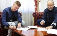 Динамо продлило контракт с Цыганковым