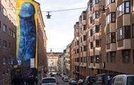 В Стокгольме закрасят мурал с пенисом