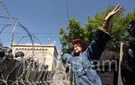 В Ереване полиция применила слезоточивый газ