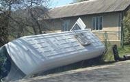 На Прикарпатье перевернулся рейсовый автобус