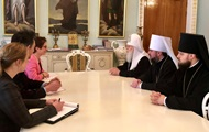 Глава УПЦ КП встретился с послом США