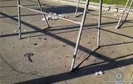 В одном из дворов Киева прогремел взрыв