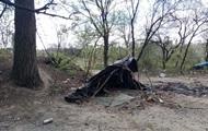 МВД: На Лысой горе сожгли мусор, а не лагерь ромов