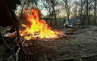 Погром лагеря ромов в Киеве: полиция открыла два дела