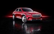 Показано люксовий електрокросовер Mercedes-Maybach