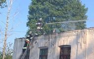 В Хмельницком области горела школа