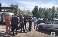 Нападение на чиновников в Киеве: появилось видео с места преступления