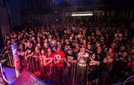 В Киеве на концерт собрались десятки людей с нацистской символикой