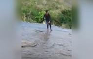 Индус сорвался с обрыва в погоне за селфи